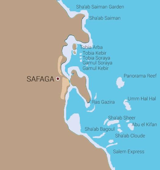 Észak és Safaga szafari