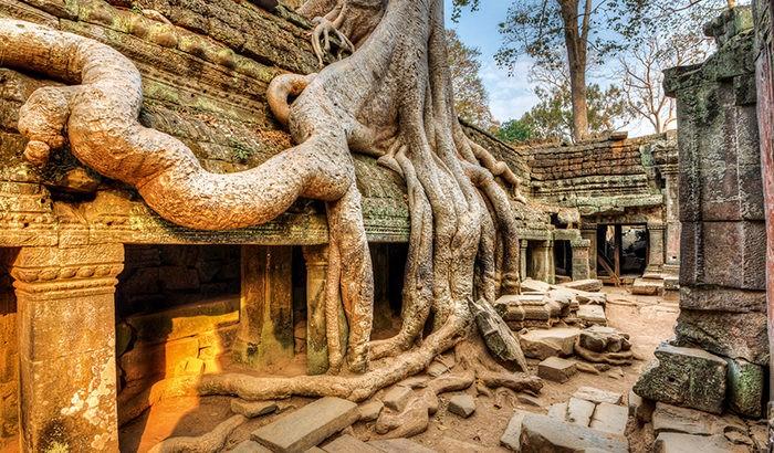 Kambodzsa Siem Reap város